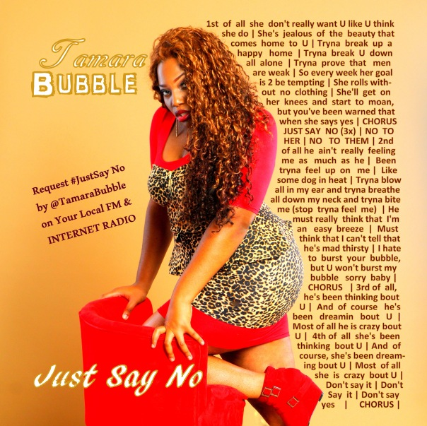Tamara Bubble - Just Say No - LYRICS